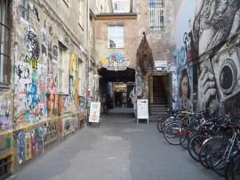 Graffiti-Innenhof 2.0