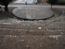 Ausgestorbener Mauerpark