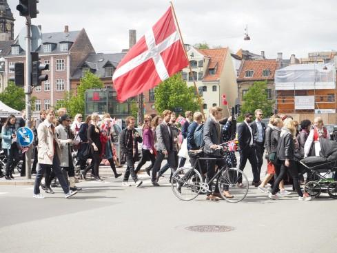 Wie die dänischen Norweger ihren Staatsfeiertag feiern?